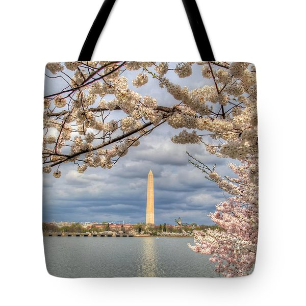 Cherry Blossoms Washington Dc 4 Tote Bag