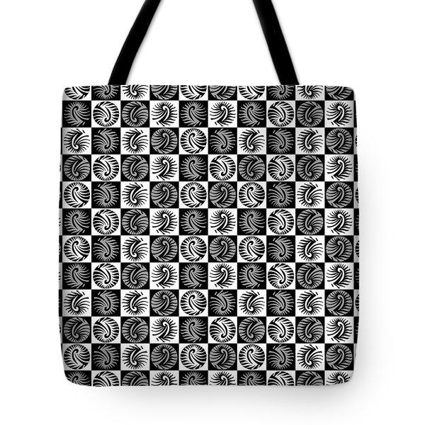 Chess Board Tote Bag by Sumit Mehndiratta