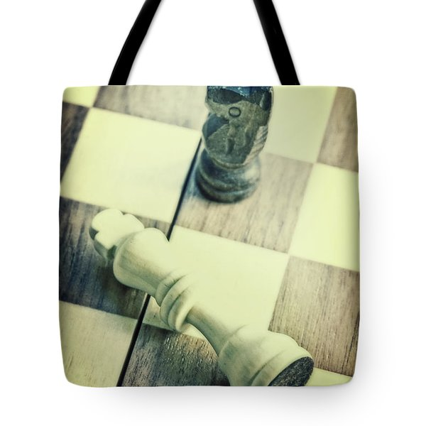 Chess Tote Bag by Joana Kruse