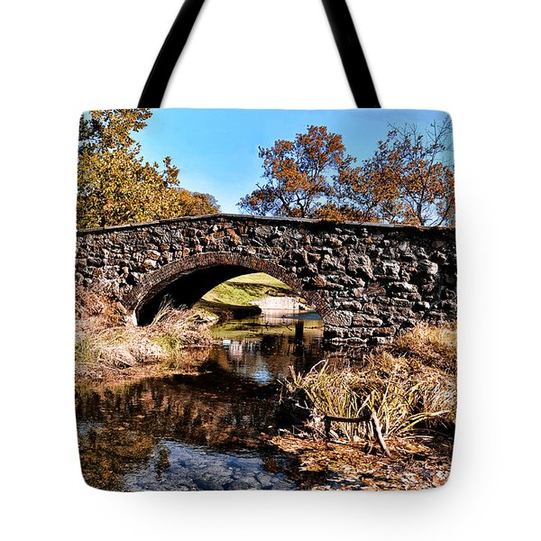 Chester County Bow Bridge Tote Bag by Bill Cannon