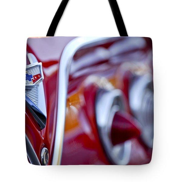 Chevrolet Impala Emblem Tote Bag by Jill Reger