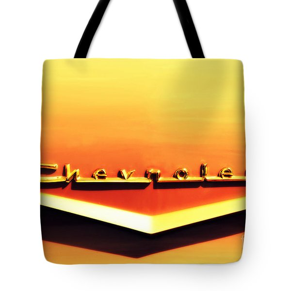 Chevrolet Tote Bag by Susanne Van Hulst