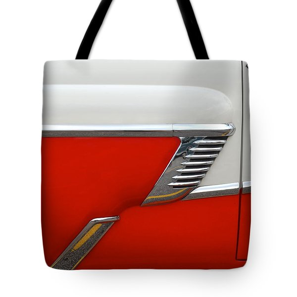 Chevy Door Tote Bag by Frozen in Time Fine Art Photography