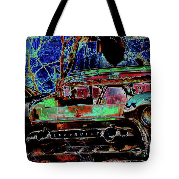 Chevy Long Gone Tote Bag