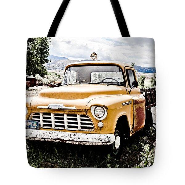 Chevy Taxi Cab  Tote Bag by Sheri Van Wert