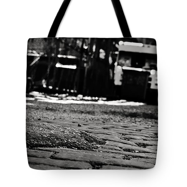 Chicago Cobblestone Tote Bag