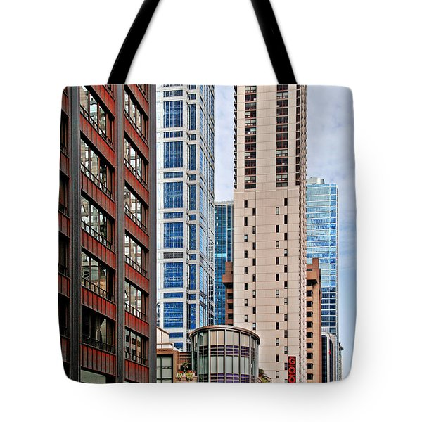 Chicago - Goodman Theatre Tote Bag by Christine Till