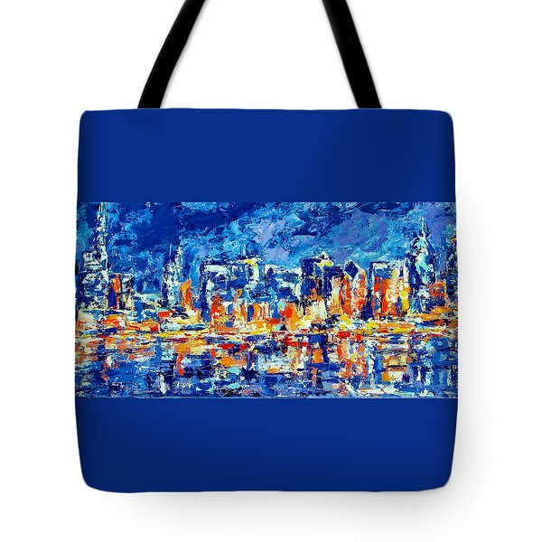 Chicago Lake Front Tote Bag by Kat Griffin