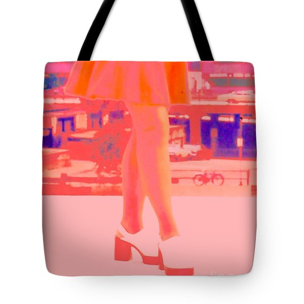 Tote Bag featuring the photograph Chicago Vintage Chic by Ann Johndro-Collins
