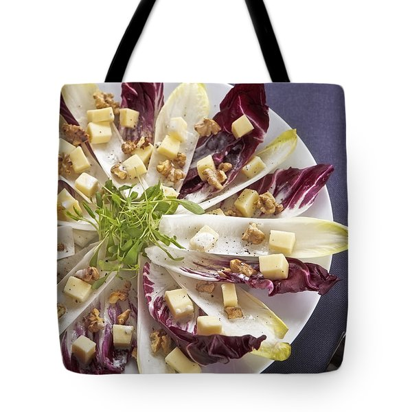 Chicory Salad Tote Bag by Joana Kruse