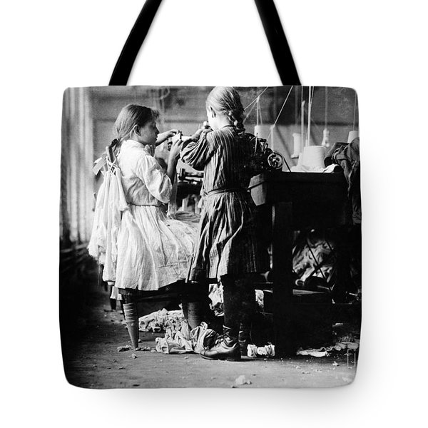 Child Labor Tote Bag by Omikron