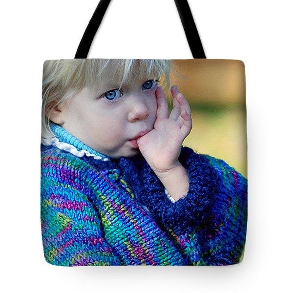 Childhood Tote Bag by Lisa Phillips