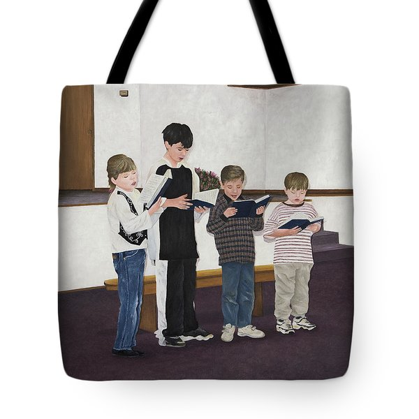 Children Sing Praise Tote Bag