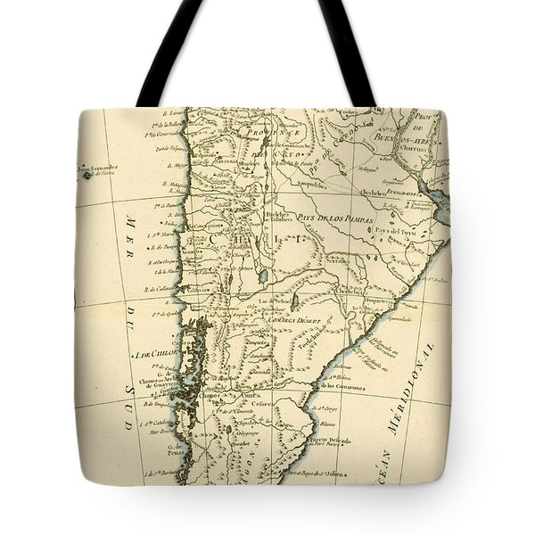 Chile Tote Bag by Guillaume Raynal