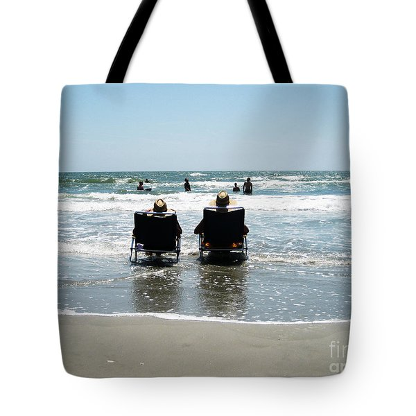 Chillin' Tote Bag by Bob and Nancy Kendrick