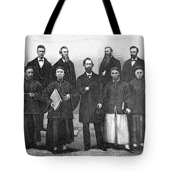 China: Missionaries, 1876 Tote Bag by Granger