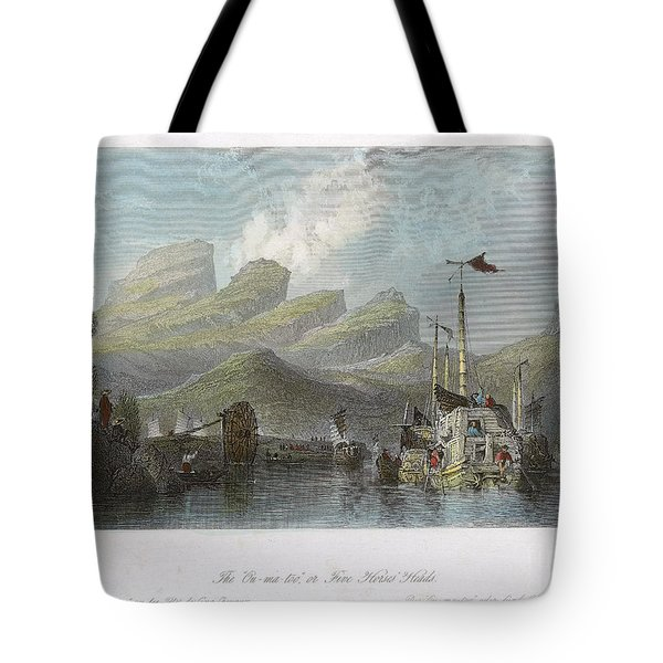 China: Mountains, 1843 Tote Bag by Granger