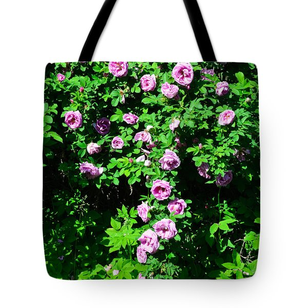 China Rose Tote Bag