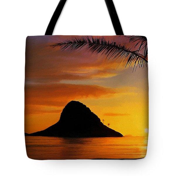 Chinaman's Hat Island Tote Bag by Dale Jackson