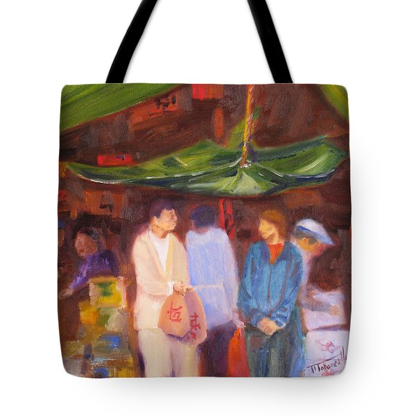 Chinatown  Vancouver Tote Bag by Mohamed Hirji
