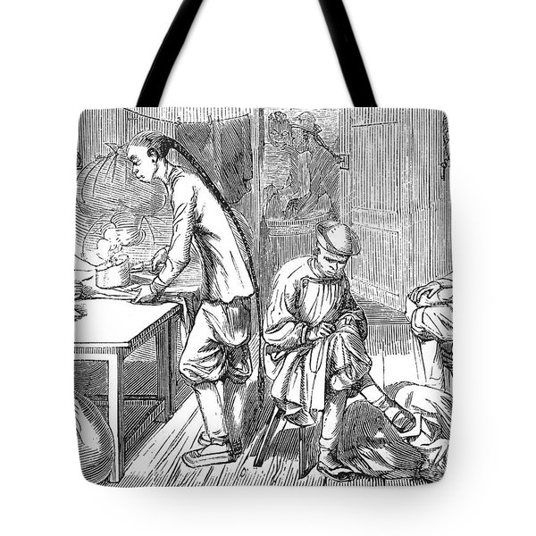 Chinese Immigrants, 1855 Tote Bag by Granger