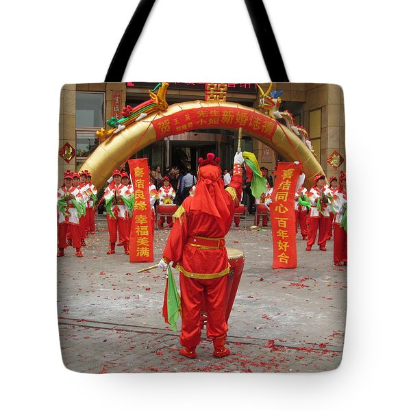Chinese Wedding Celebration Tote Bag by Alfred Ng