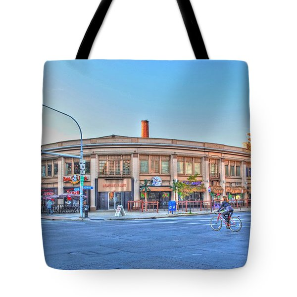 Chippewa And Delaware Tote Bag by Michael Frank Jr
