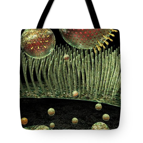 Chlamydia Replication Tote Bag by Russell Kightley