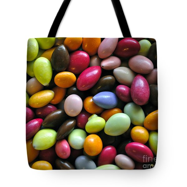 Chocolate Covered Sunflower Seeds Tote Bag by Gwyn Newcombe