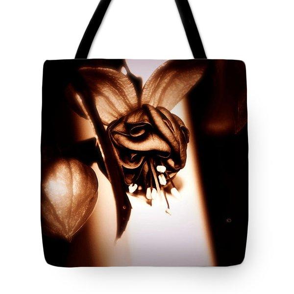 Chocolate Silk Fuchsia II Tote Bag by Jeanette C Landstrom