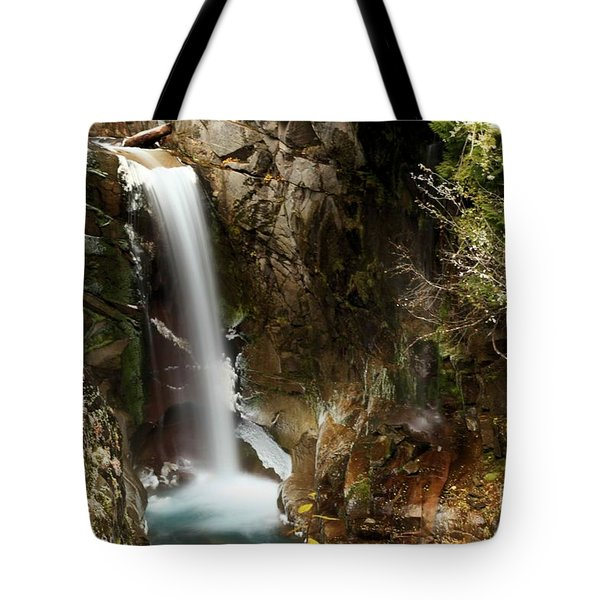Christine Falls Canyon Tote Bag