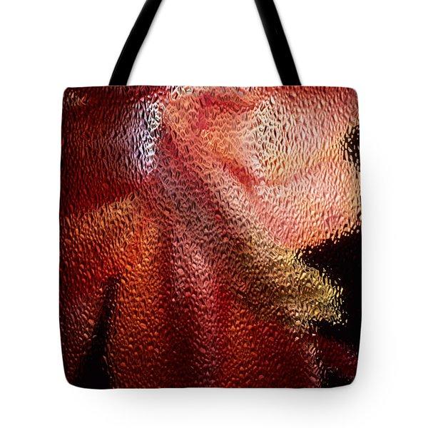 Christmas Cactus Tote Bag by Sharon Elliott