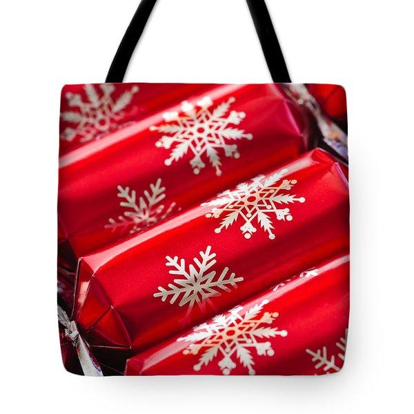 Christmas Crackers Tote Bag by Elena Elisseeva