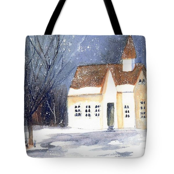 Christmas Eve Tote Bag by Wendy Cunico