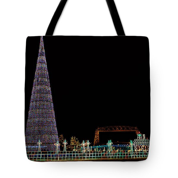 Christmas In Duluth Tote Bag