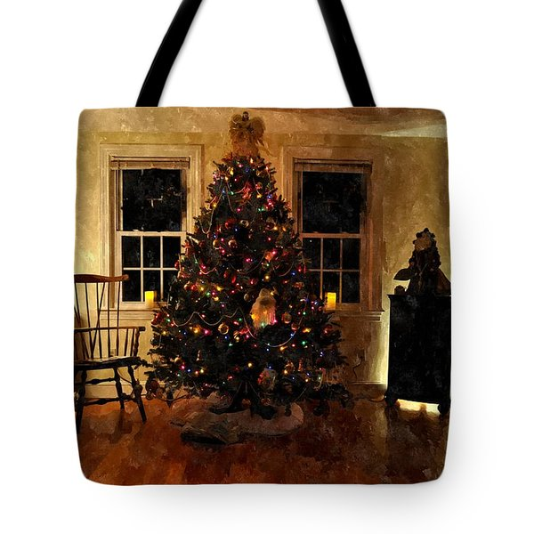 Christmas Past Cpwc Tote Bag by Jim Brage