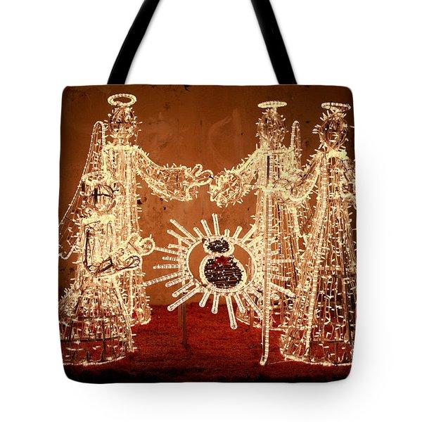 Christmas Scene Tote Bag by Gaspar Avila