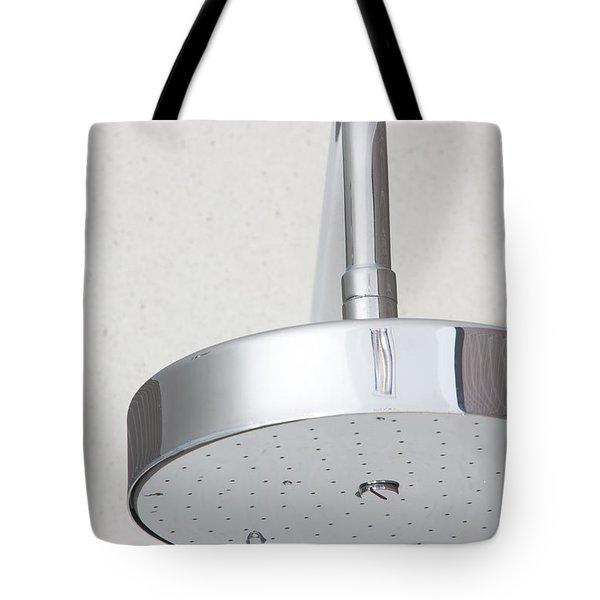 Chrome Shower Head Tote Bag
