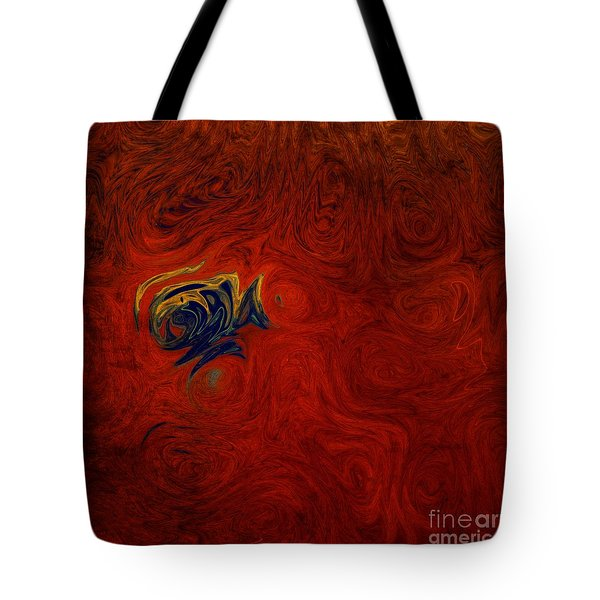 Chronicle Tote Bag by Michael Garyet