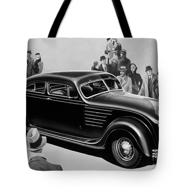 Chrysler Airflow Tote Bag by Photo Researchers