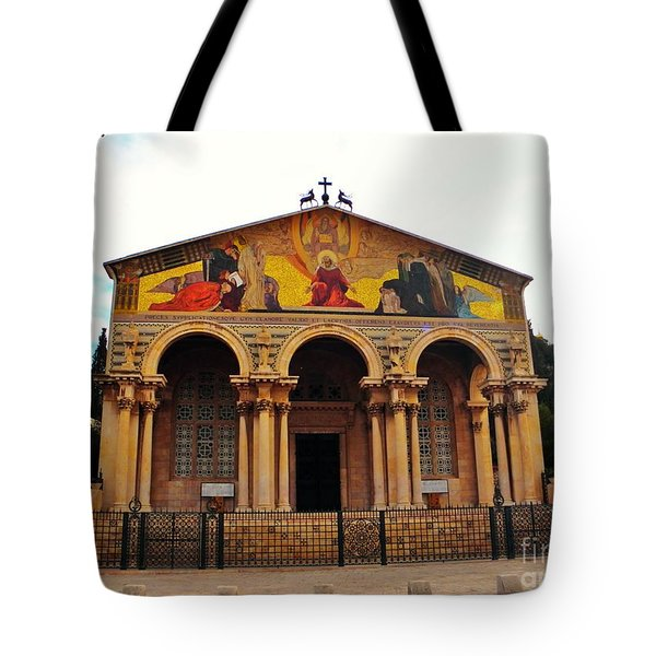 Church Of All Nations  Tote Bag