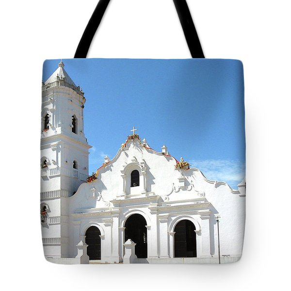 Church Of Nata De Los Caballeros Tote Bag