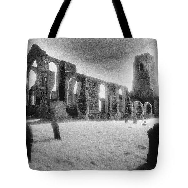 Church Of St Andrew Tote Bag by Simon Marsden