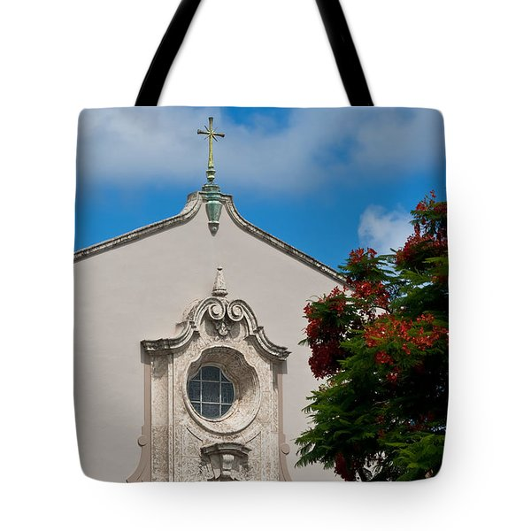Tote Bag featuring the photograph Church Of The Little Flower by Ed Gleichman