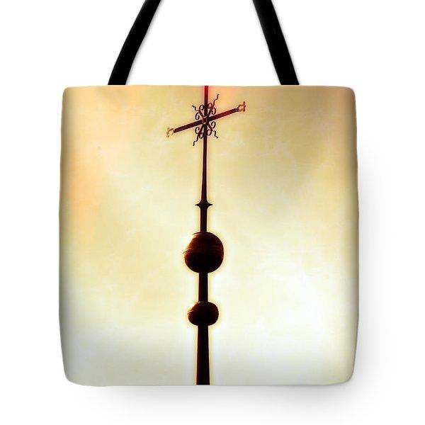 Church Spire Tote Bag by Joana Kruse
