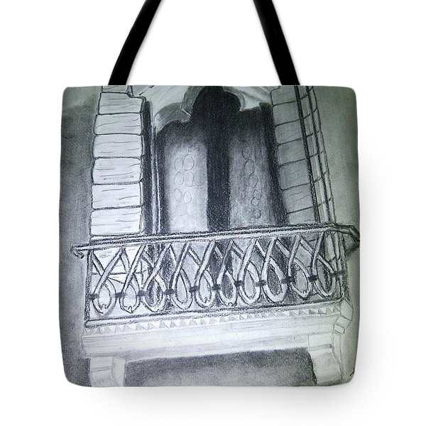Church Window Tote Bag by Irving Starr