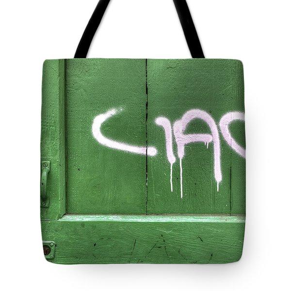 Ciao Tote Bag by Joana Kruse