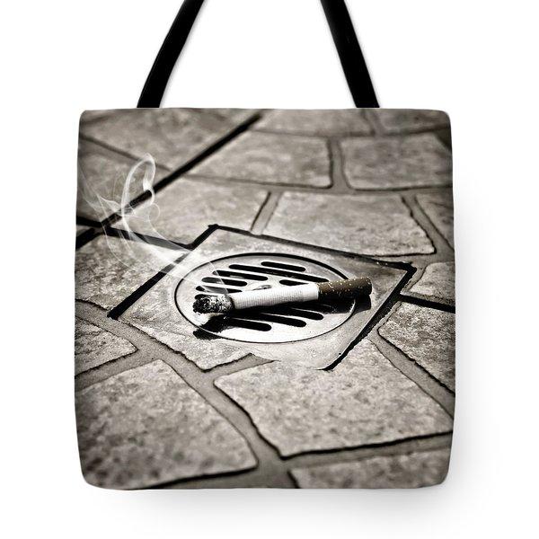 Cigarette Tote Bag by Joana Kruse