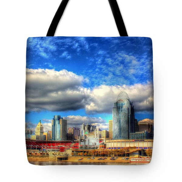 Cincinnati Skyline 2012 - 2 Tote Bag