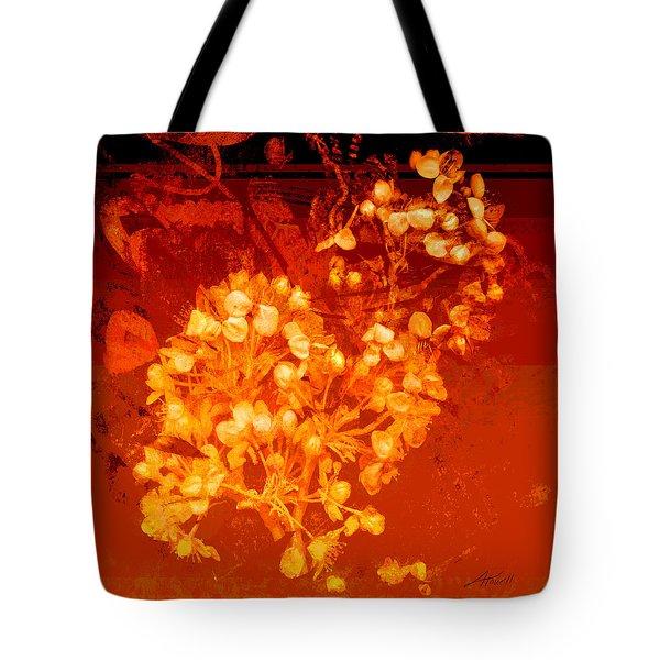 Cinnabar  Tote Bag by Ann Powell